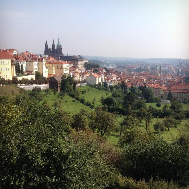 А в Праге сегодня +26