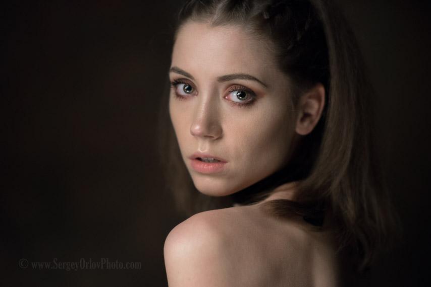 Фотография с мастер класса Максима Максимова. Фотограф - Сергей Орлов, модель - Ксения Кокорева.