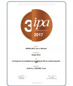 IPA CIS 2017 Certificate of Accomplishment